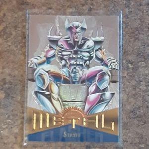 Vintage 1995 Marvel Metal Stryfe Collector's Card